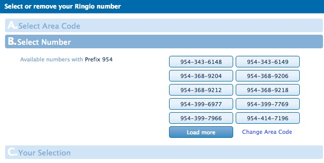 Assigning Personal Numbers To Users Ringio Support - 954 area code